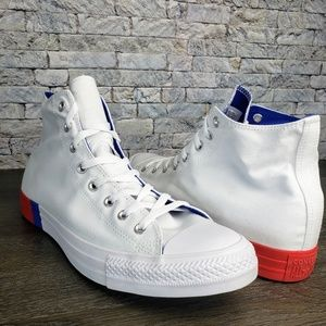 🚀 Converse Chuck Taylor All Star Red White Blue